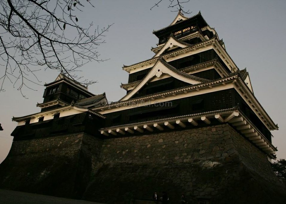 kimamoto castle