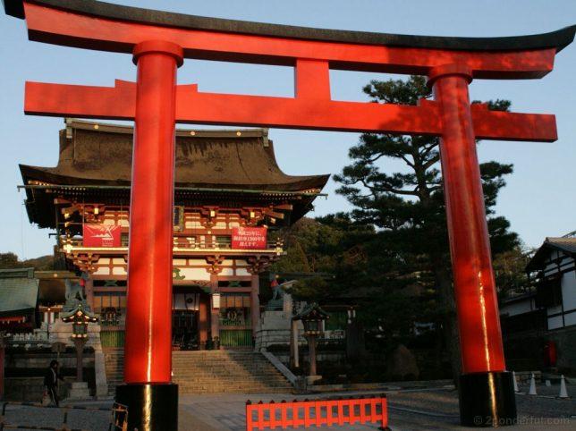 fushimi inari main hall