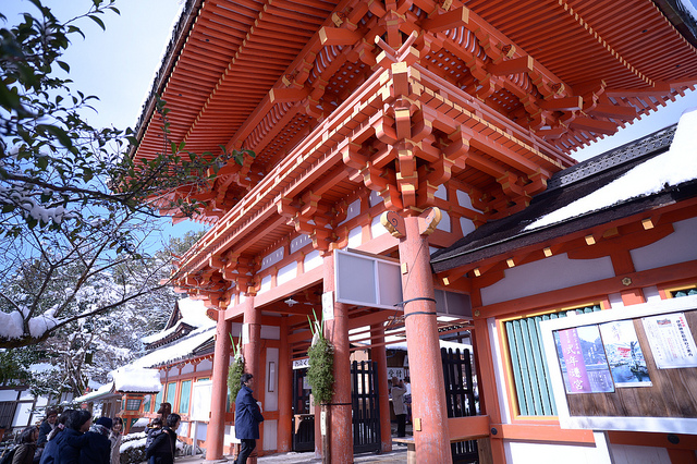 kamigamo shrine gate