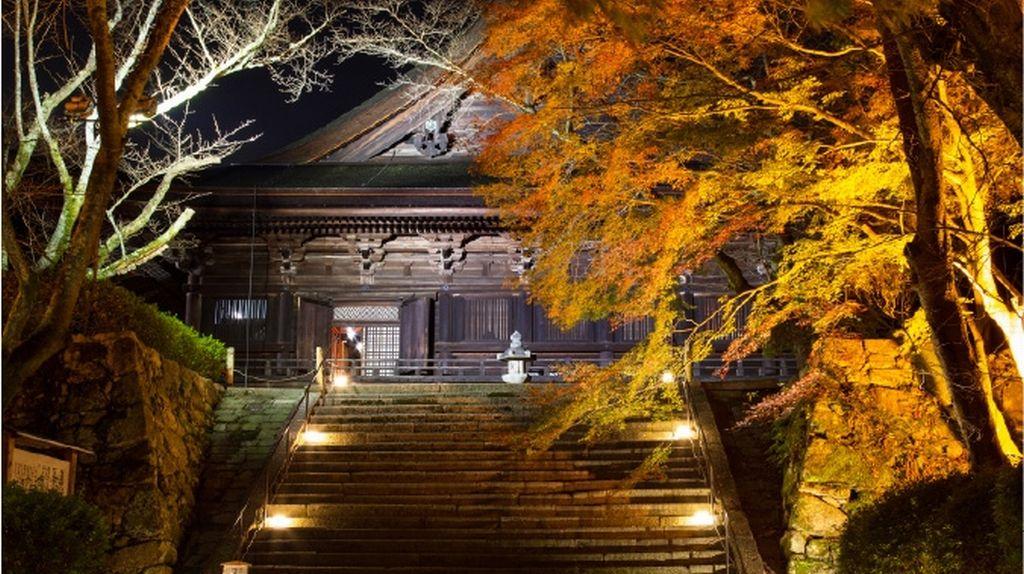 mii-dera illumination