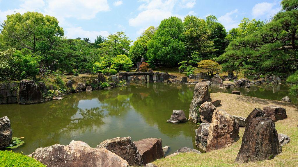 nijo castle garden