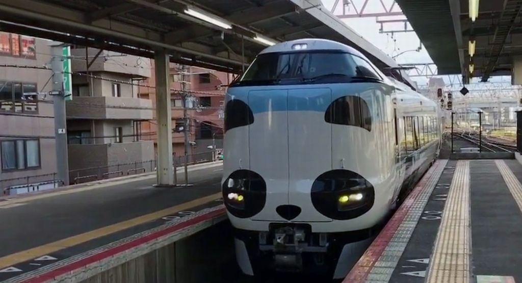 panda kuroshio train