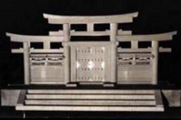 a triple torii gate
