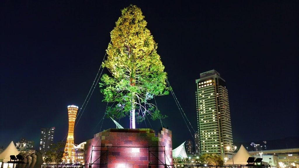 Kobe christmas tree
