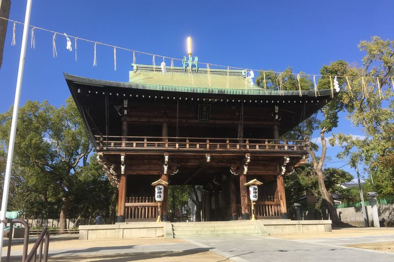 Ishikiri-san gate
