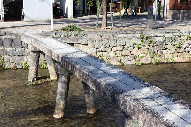 Shirakawa ipponbashi bridge