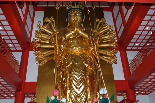 Kimii-dera Temple senjyu kannon