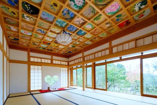 shoju-in ceiling paintings