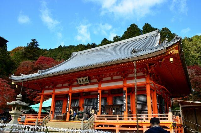katsuo-ji main hall