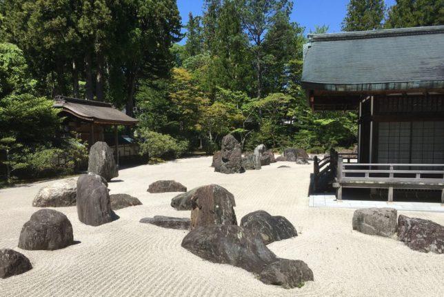 kongobu-ji garden